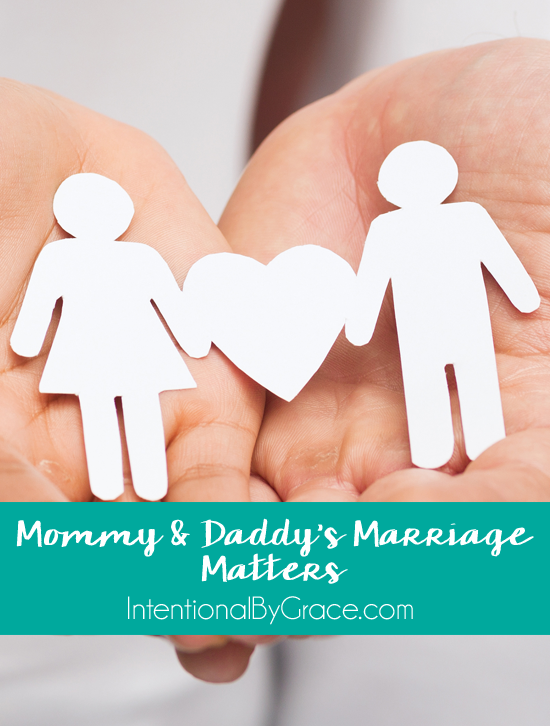 Mommy & Daddy's Marriage Matters {a new series!}
