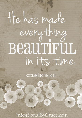 he has made everything beautiful in its time
