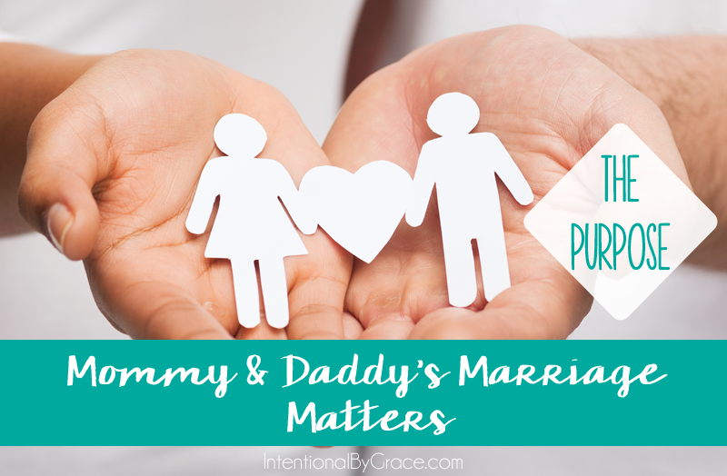 What is the purpose of Mommy and Daddy's marriage? This post explains it.
