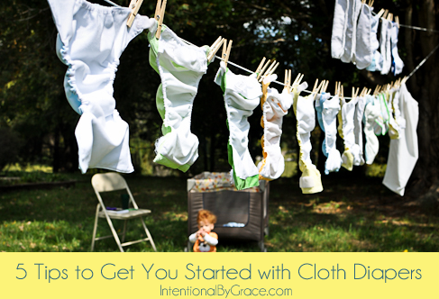 5 tips to get you started with cloth diapers