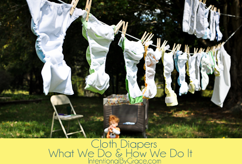 cloth diaper what we do and how we do it