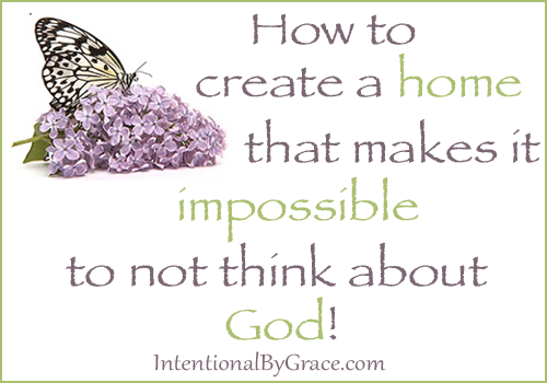 impossible to not think about God
