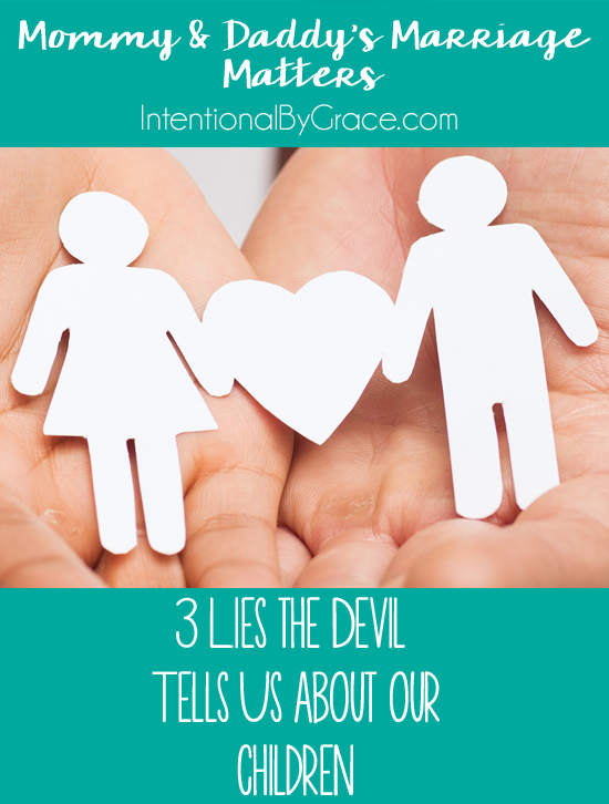 Children are a heritage from the Lord, but here are 3 lies the Devil tells us about children!