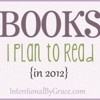 books i plan to read 2012