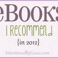 eBooks I recommend in 2012