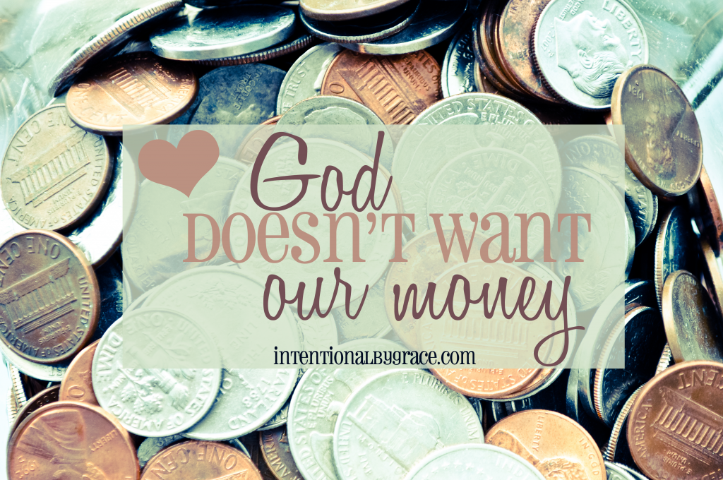 god doesnt want your money