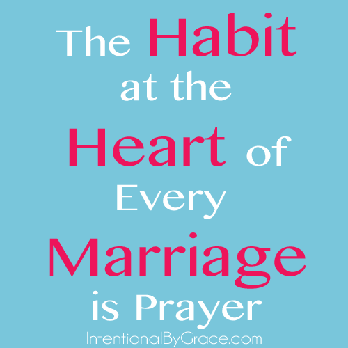 the habit at the heart of every marriage