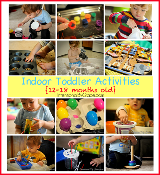 Wow! This post has been pinned 30K+ times! 12 indoor toddler activities for your 12-18 month old