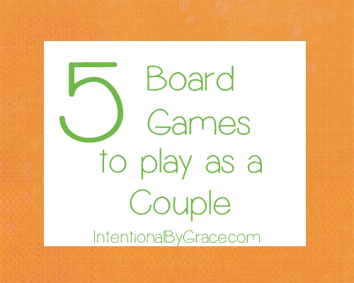 5 board games to play as a couple