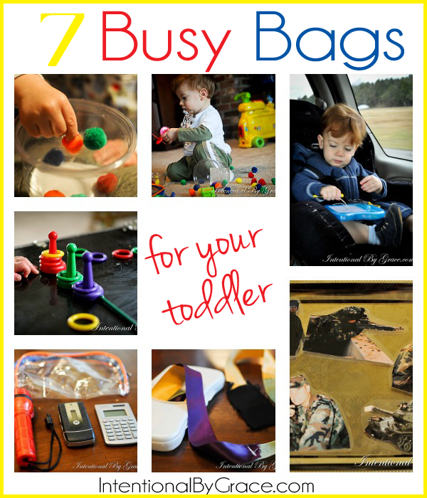 7 busy bag ideas for your toddler