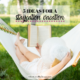 How to take a staycation at home. Here are five cheap and free ideas for your staycation this summer. Being cheap can be fun!   IntentionalByGrace.com