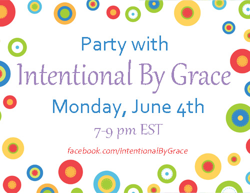 Facebook Party with Intentional by Grace!