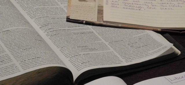 Bible w: journal