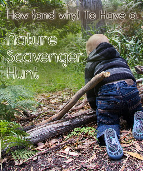 Nature Scavenger Hunt - Intentional By Grace