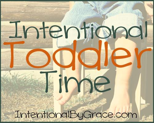 Intentional Toddler Time Slider