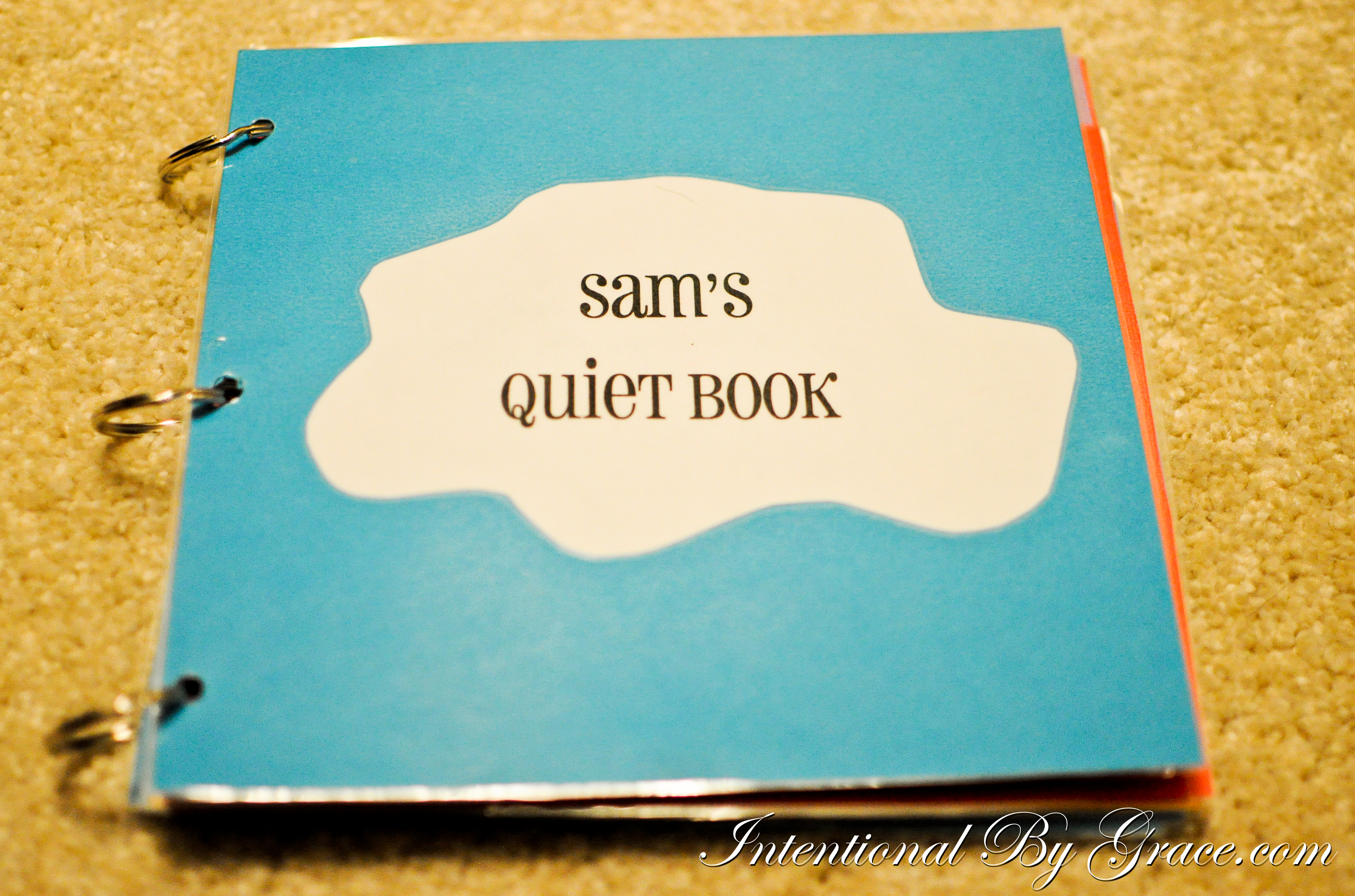 How to make a quiet book for your toddler intentional by for The idea door quiet book