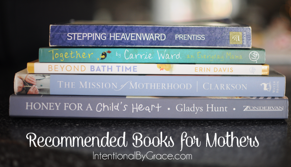 recommended books for mothers from one mom's stack of favorites