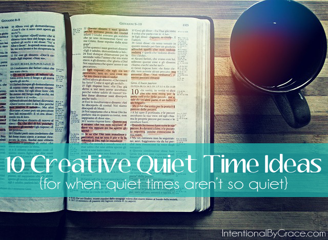 When Your Quiet Times Aren't So Quiet