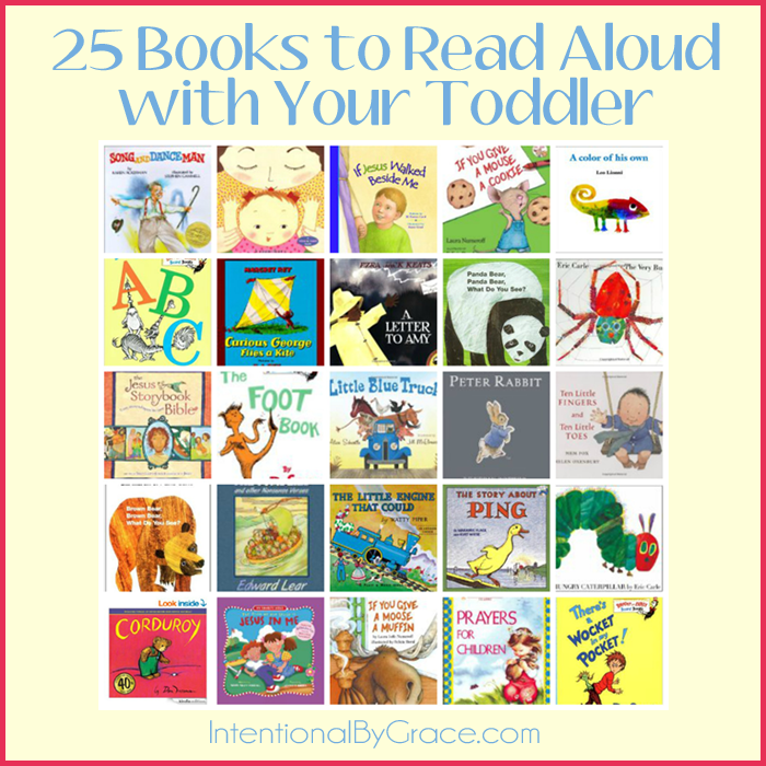 25 Books to Read Aloud with Your Toddler