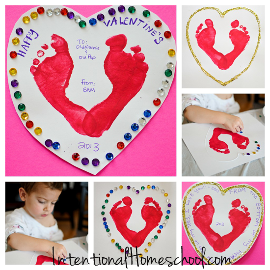 DIY Valentine's Day Cards {Toddler Approved}