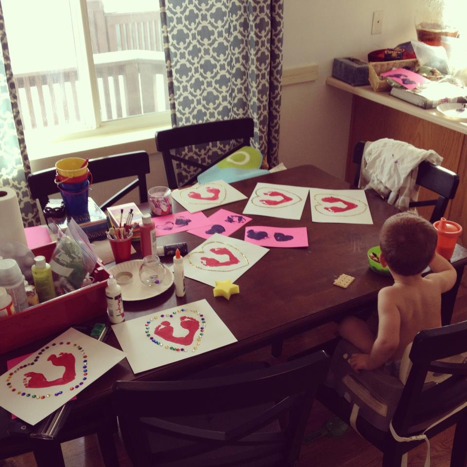 Diy Calendar Homeschool : Diy valentine s day cards toddler approved intentional