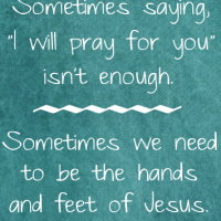 when i will pray for you isn't enough