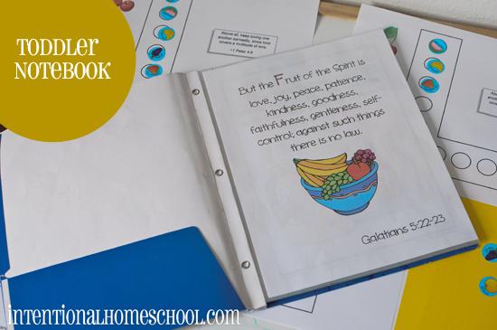 toddler notebook