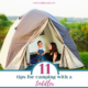 make camping with a toddler fun and memorable