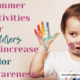15 days of intentional summer toddler activities. Day 3 is intentionally teaching colors. Just because it's summertime it doesn't mean we stop learning. - IntentionalByGrace.com