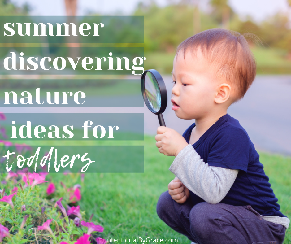 hiking, nature study, outdoor activities with toddlers