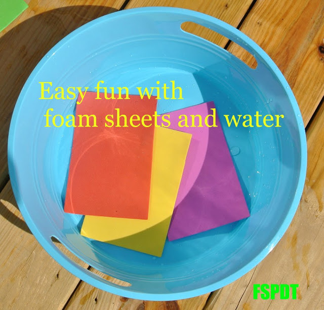 Fun water activities to do with toddlers