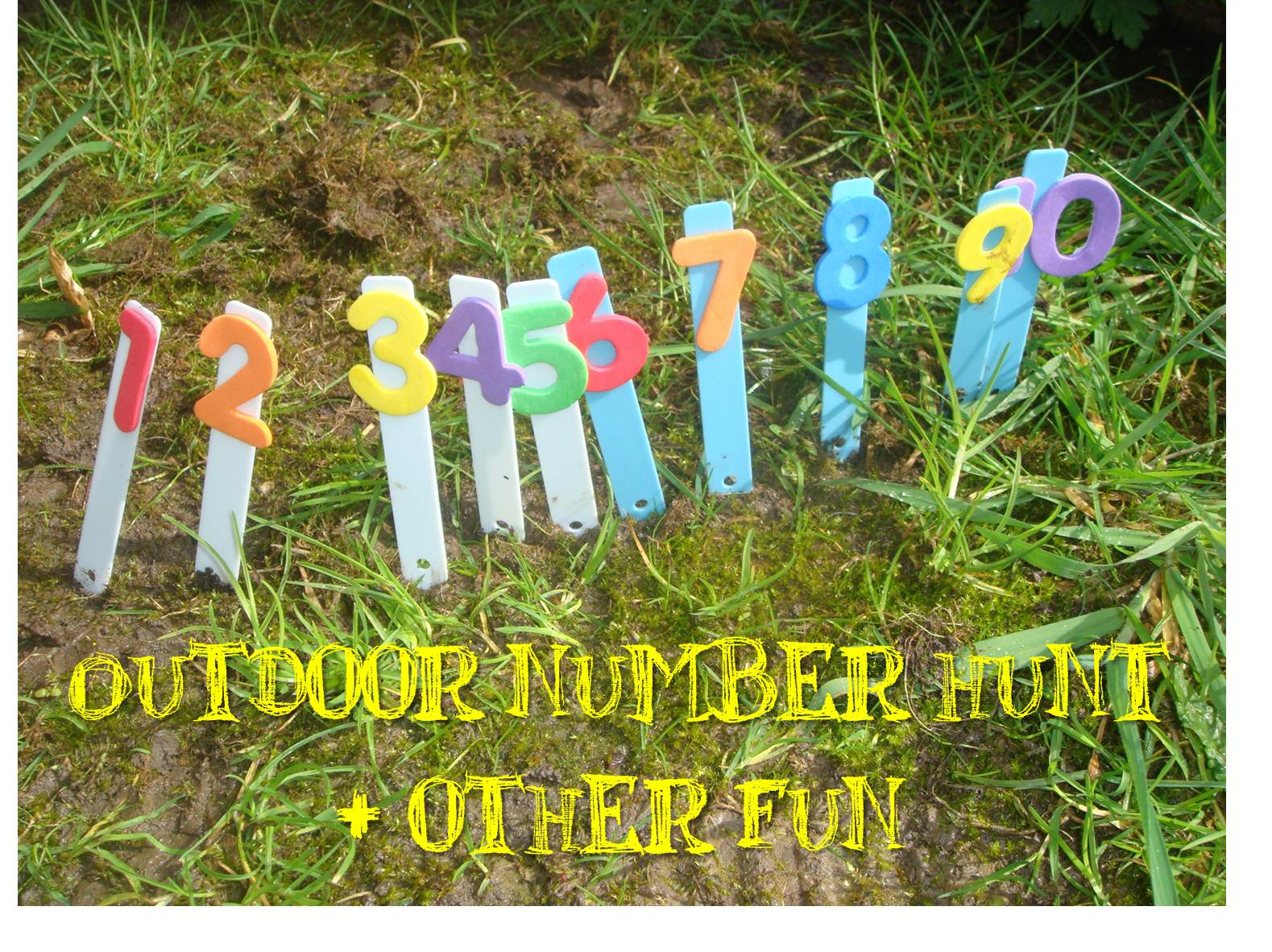 15 days of intentional summer toddler activities. Learning about numbers and increasing number awareness.