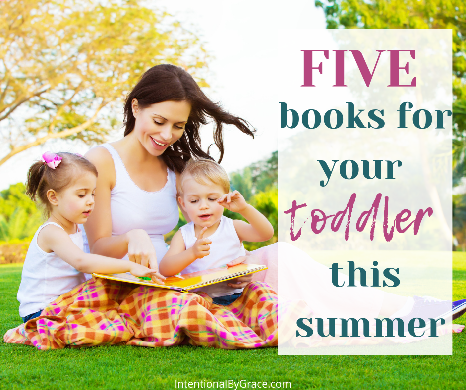 5 books to read with your toddler this summer