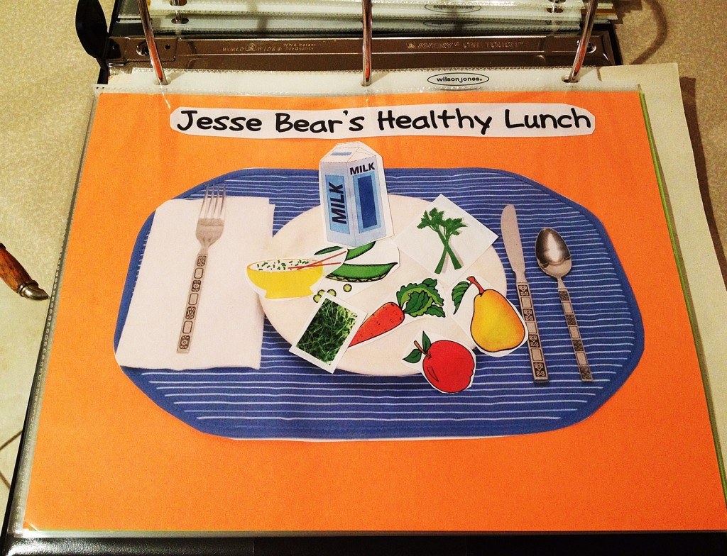 jesse bear what will you wear activity
