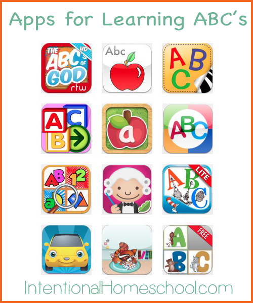 early learning abc apps for toddlers and preschoolers