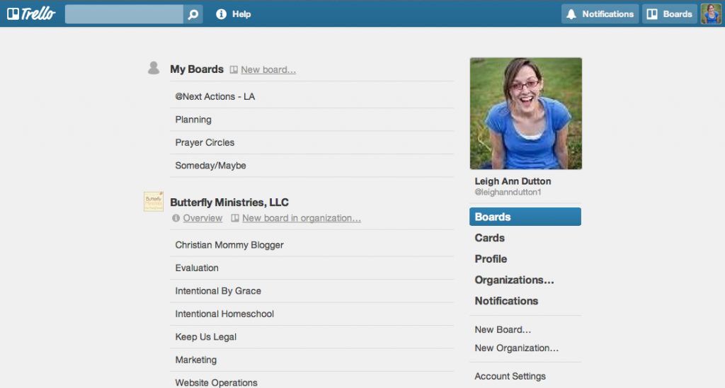 Managing My Master To Do List with Trello