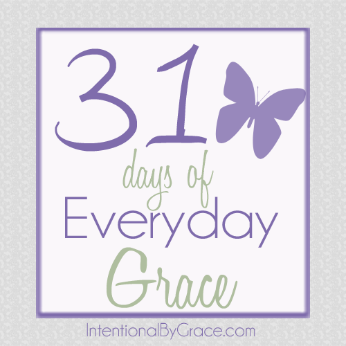 31 days of everyday grace