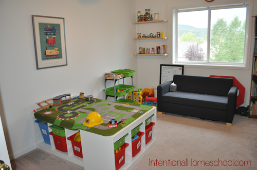 baby play area in living room our schoolroom 2013 2014 intentional by grace 25263