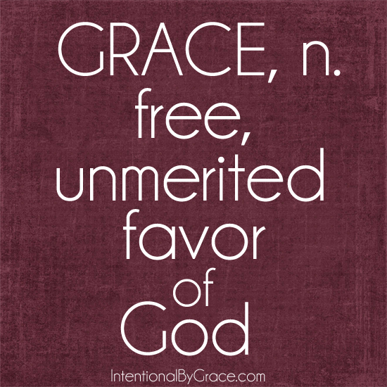 grace free unmerited favor of god