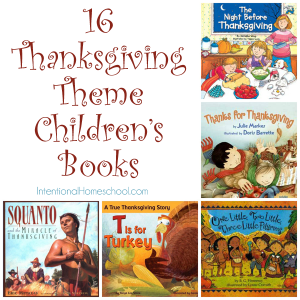 16 thanksgiving theme childrens books that we love!