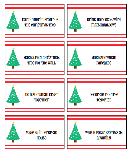 2013 Advent Activities Free Printable