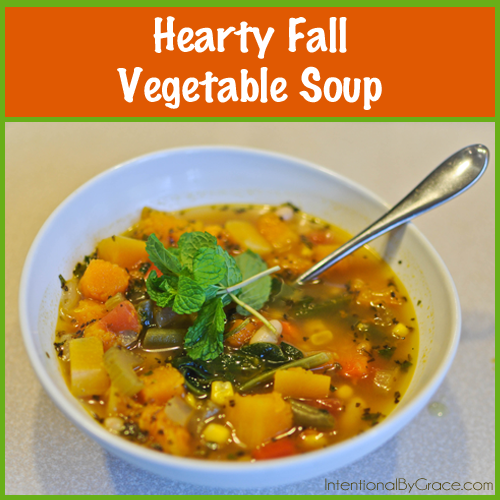 hearty fall vegetable soup