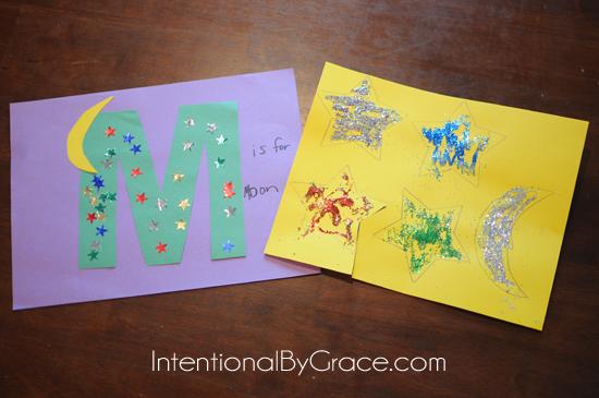letter m craft