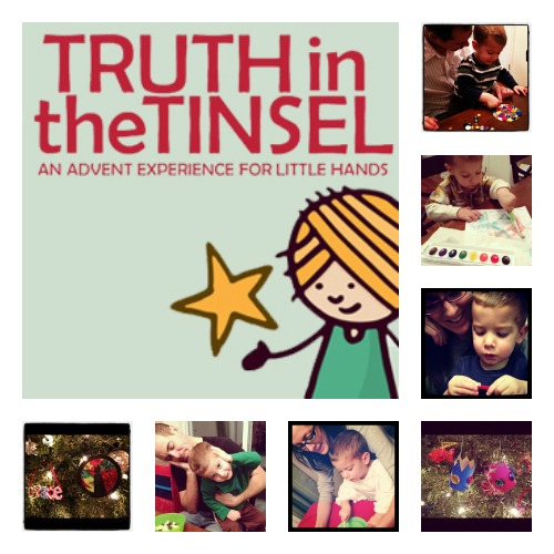 truth in the tinsel collage