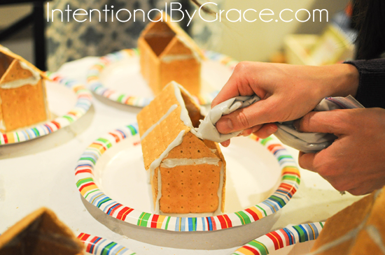 gingerbread house roof