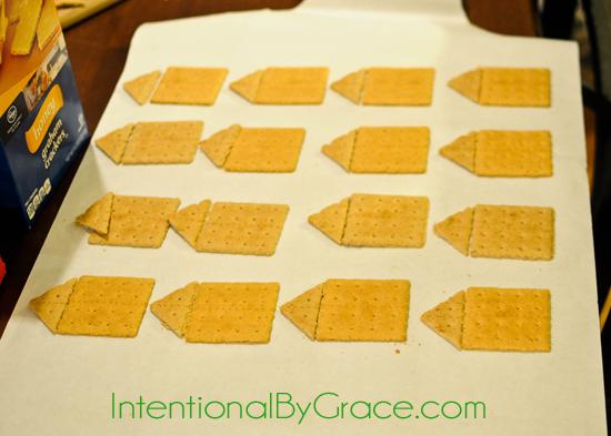graham cracker eaves