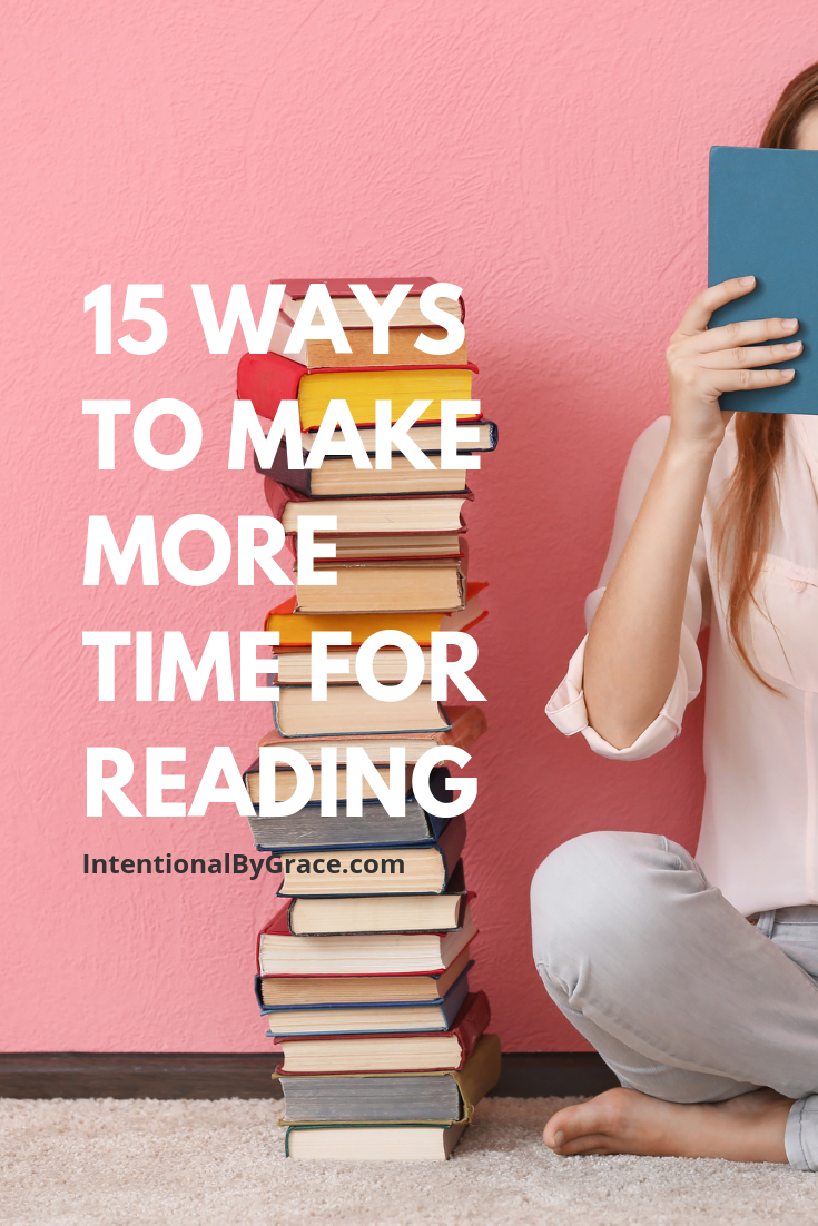 15 Ways to Make More Time for Reading in 2019!