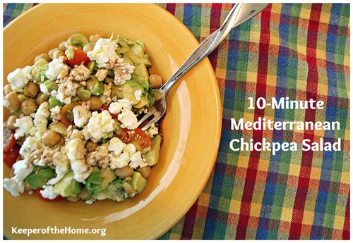 mediterranean-chickpea-salad