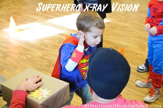 superhero xray vision