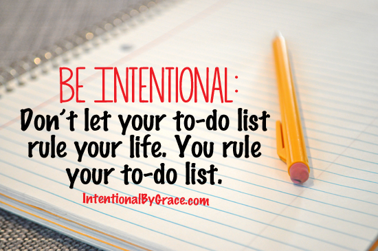 dont let your to do list rule your life